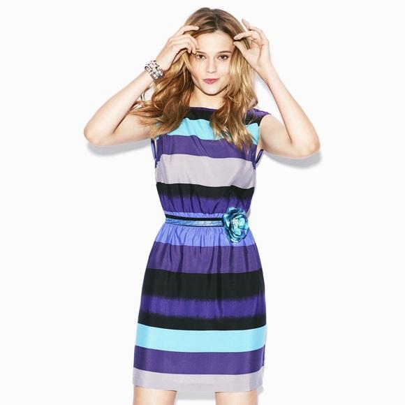 52d0507a02b6 LOFT Dresses   Skirts - 🎉HP🎉 LOFT Purple Striped Dress